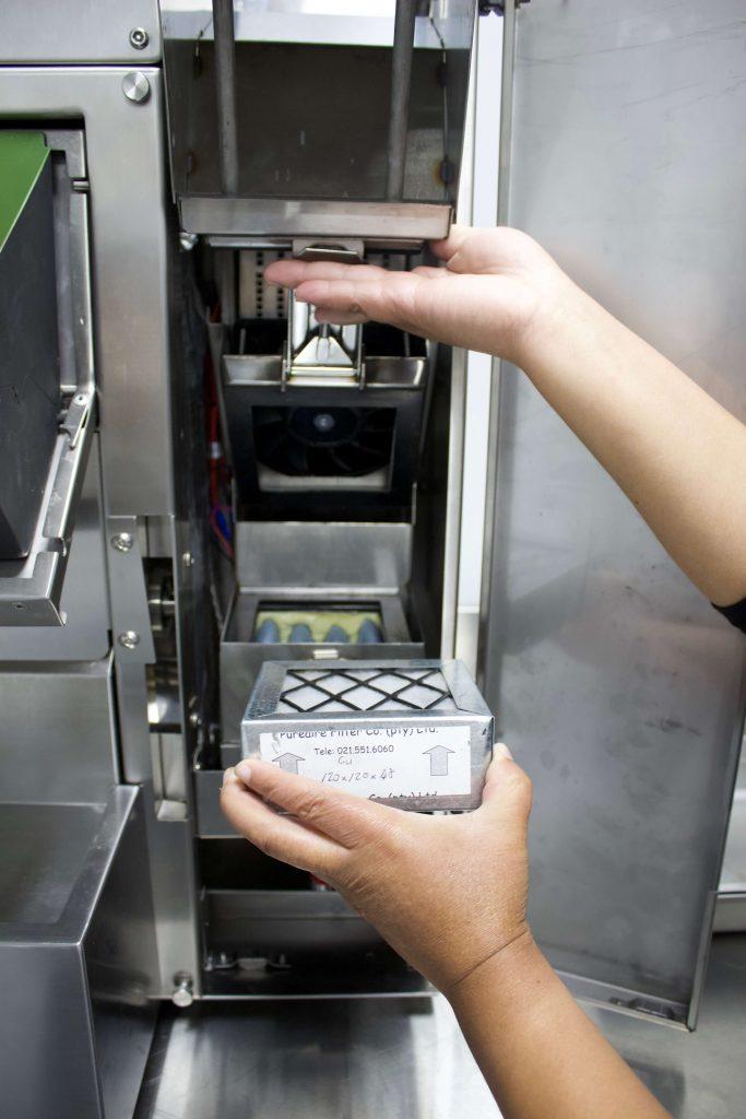 Small Fryer Filter Kombo King Ventless Fryer Tech