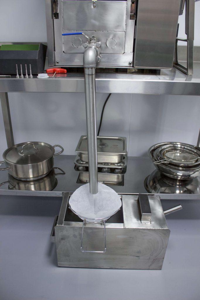 Small Fryer Oil Filter Kombo King Ventless Fryer Tech