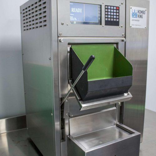 Small Fryer Chute Open 3 Kombo King
